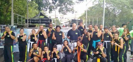 Alunos da Brazilian Martial Arts Team